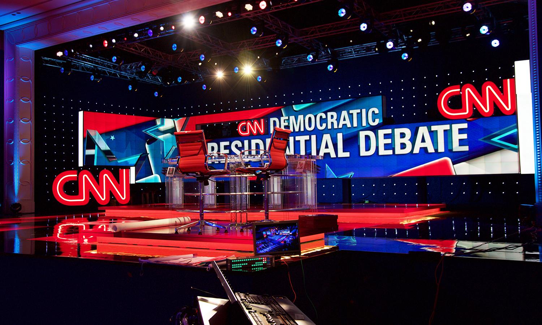CNN | Las Vegas Democratic Debate - Clickspring Design