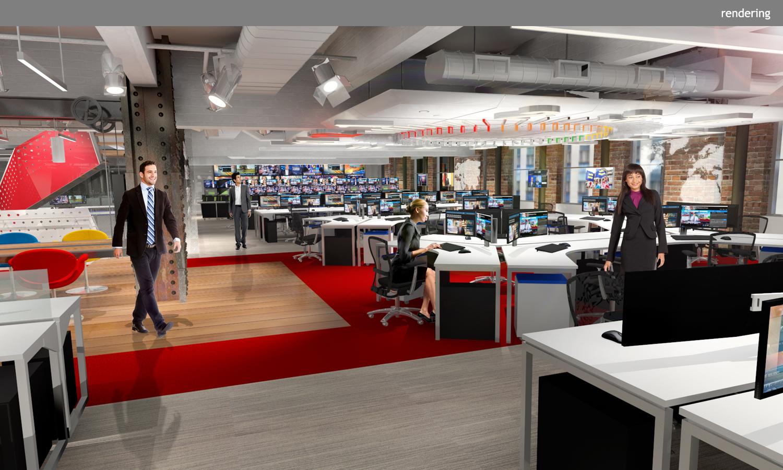 NBC | L4 Newsroom + Studio - Clickspring Design
