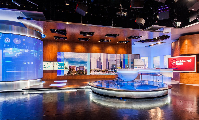Georgia >> The Weather Channel   Main Studio - Clickspring Design