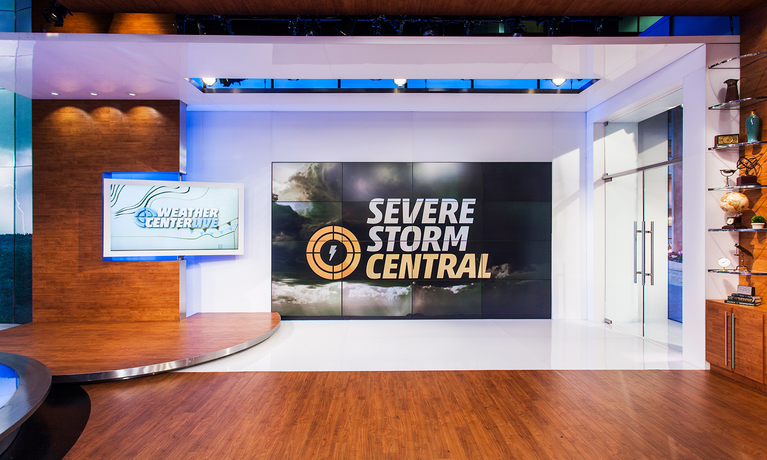 The Weather Channel | Main Studio - Clickspring Design