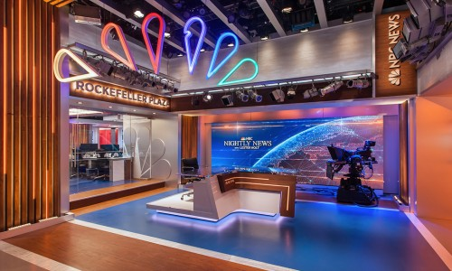 Broadcast Design National Winner | NewscastStudio 2017 Set of the Year