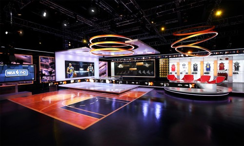 Broadcast Design Sports Winner & AR/VR Winner | NewscastStudio 2017 Set of the Year